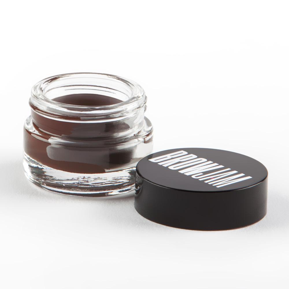 pomade jar brown