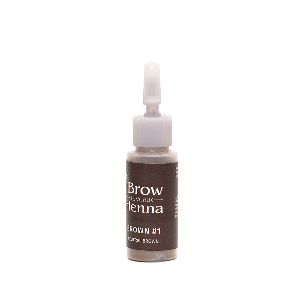 BH Henna Brow Dye Neutral Brown