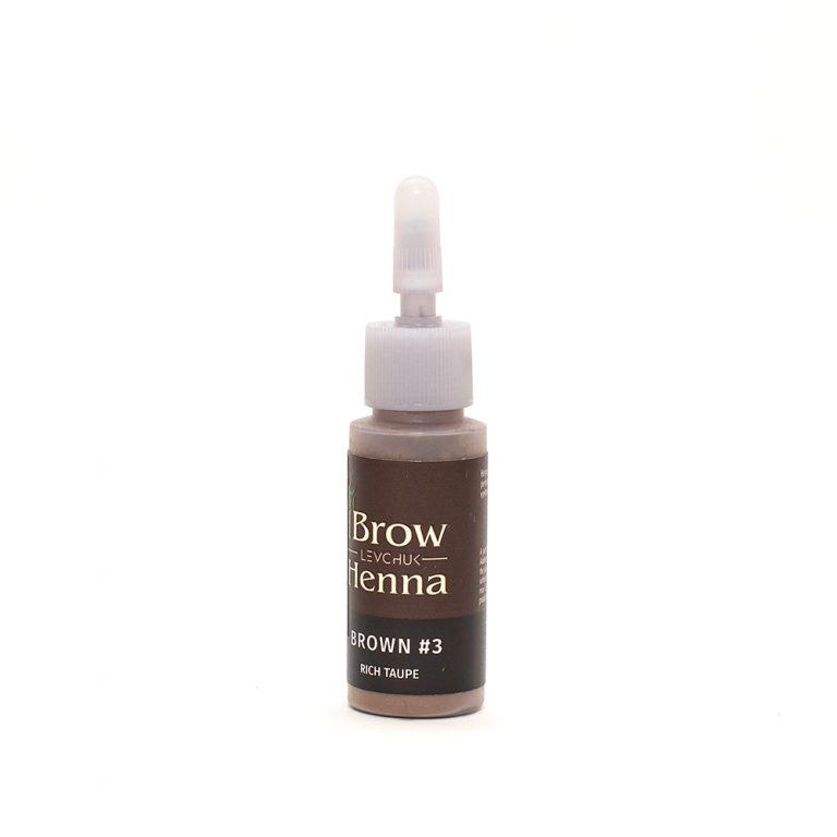 BH Henna Brow Dye Rich Taupe