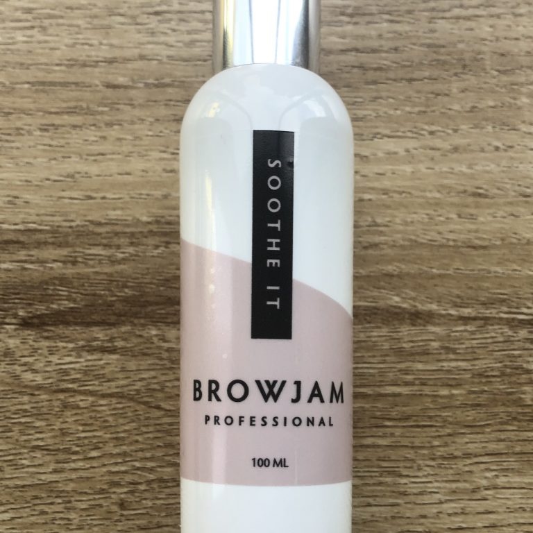 Browjam's Soothe It was created to give you that amazing Browjam look at home.