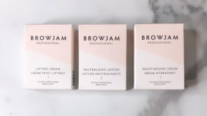An alternative image of Browjam's TVT Lamination 1-2-3 without bonding serum